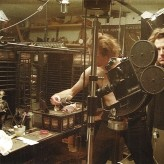 The Quay Brothers in the studio. Photo courtesy of the Quay Brothers.