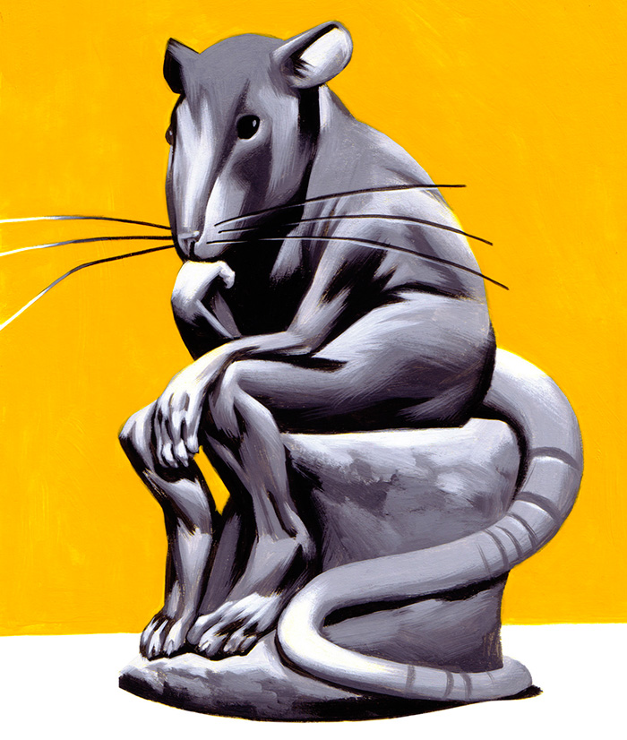 Thomas Fuchs: Thinking Rat