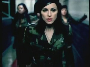 Madonna, American Life, video clip still, 2003