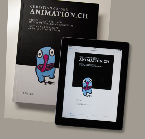Christian Gasser: animation.ch, Cover
