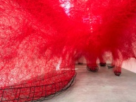 Chiharu Shiota. Uncertain Journey