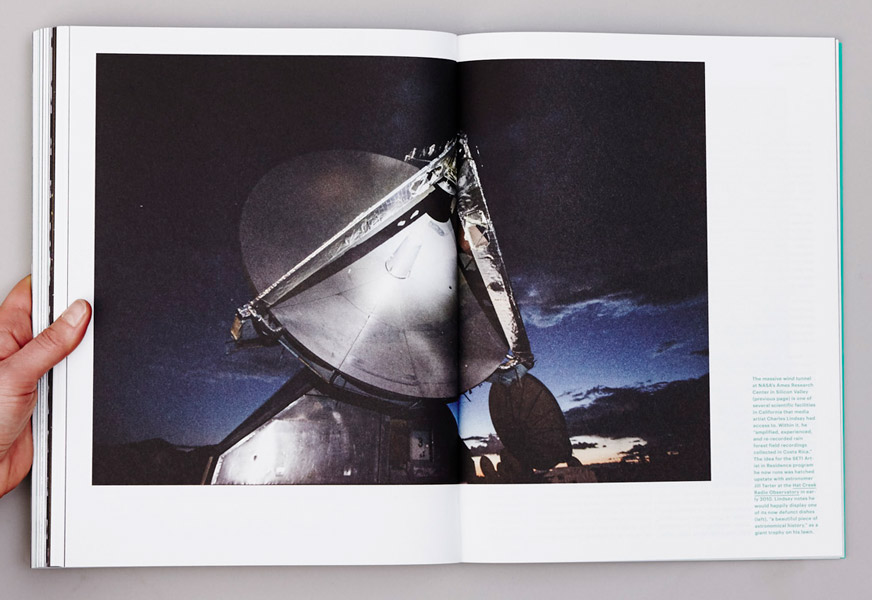 Abb. 06. Hat Creek Radio Observatory, »a beautiful piece of astronomical history«, S. 204/205.