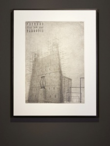 ©The Quay Brothers Paysage plus loin que Varsovie, 1970's pencil on paper 54,5 x 76 cm.