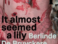 It almost seemed a lily. Berlinde De Bruyckere