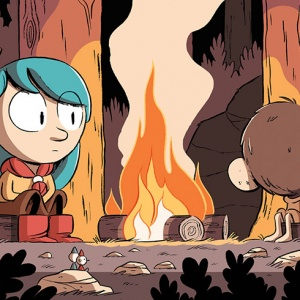 Luke Pearson Hilda, published by Nobrow 2010–2019, animated series by Netflix 2018