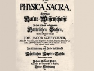Physica Sacra. Die Kupferbibel von Johann Jacob Scheuchzer